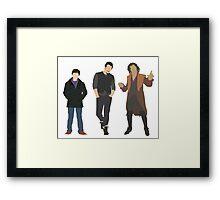 The Stiltskins Framed Print