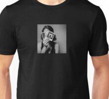 The Shy Photographer Unisex T-Shirt