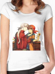 Love Anime Women's Fitted Scoop T-Shirt