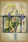 Flowers at my Window by Elaine Teague