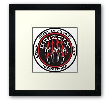 Grizzly MMA Selection Framed Print