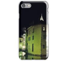 Annecy by night iPhone Case/Skin
