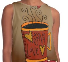 Java Love Contrast Tank