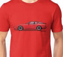 India Red 1986 P 944 951 Turbo (US spec) Unisex T-Shirt