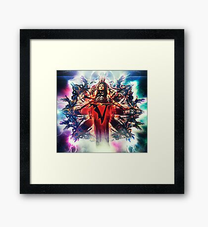 Veil of Maya Matriarch Framed Print