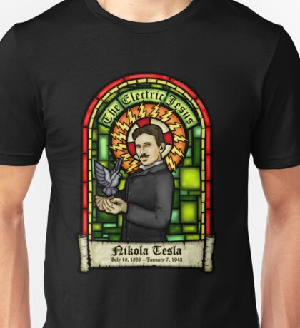 Tesla: The Electric Jesus Unisex T-Shirt