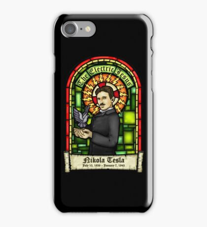 Tesla: The Electric Jesus iPhone Case/Skin