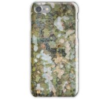 natural green forest tree bark texture camouflage adventure pattern iPhone Case/Skin