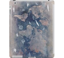world map 1 sealife  iPad Case/Skin