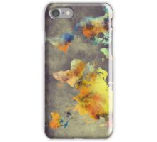 World map 2077 iPhone Case/Skin