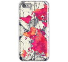 World map 10 iPhone Case/Skin