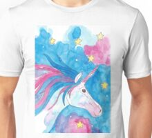 Magical Unicorn by Peppermint Art Unisex T-Shirt