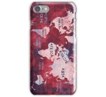 world map 16 iPhone Case/Skin
