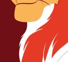 Lion King Vector Design Sticker