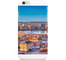 Cardiff Bay from Penarth - painterly style iPhone Case/Skin