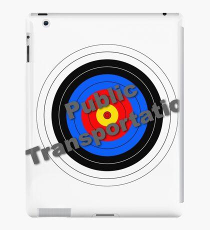 Public Transportation Target iPad Case/Skin