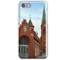 Old city market hall, Bydgoszcz, Poland iPhone Case/Skin