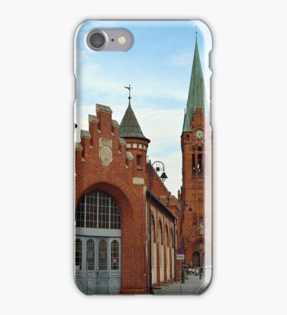 Old city market hall, Bydgoszcz, Poland iPhone Case/Skin