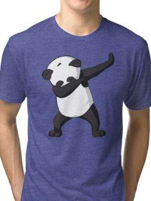DAB Panda Trend Tri-blend T-Shirt
