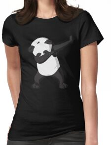 DAB Panda Trend Womens Fitted T-Shirt