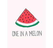 One In A Melon Photographic Print