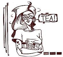 TEA! Photographic Print
