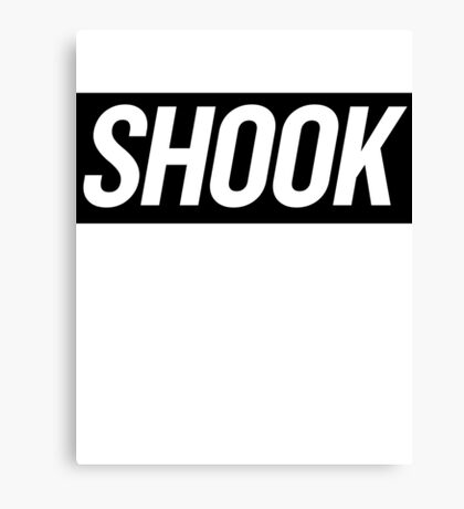 Shook 3 Canvas Print