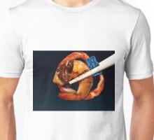 Blueberry Gummi with Shrimp Mole Pretzel Unisex T-Shirt
