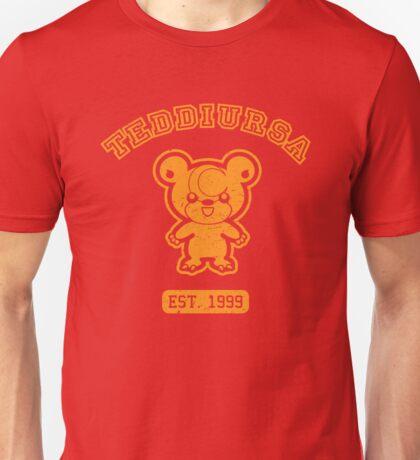 Teddiursa - College Style (Gold) Unisex T-Shirt