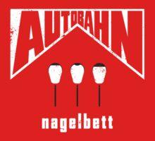 Autobahn – Nagelbett (aged look) Kids Tee