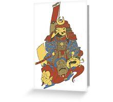 Avenging Samurai Pikachu Greeting Card