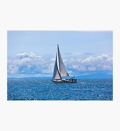 Recreational Yacht Photographic Print