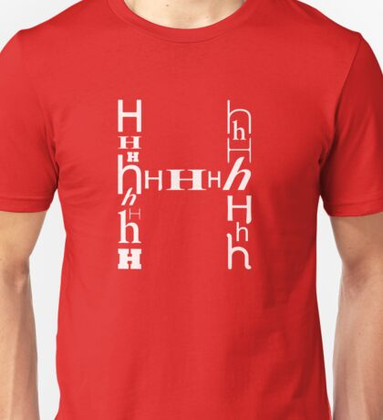 Found Letters - H Unisex T-Shirt