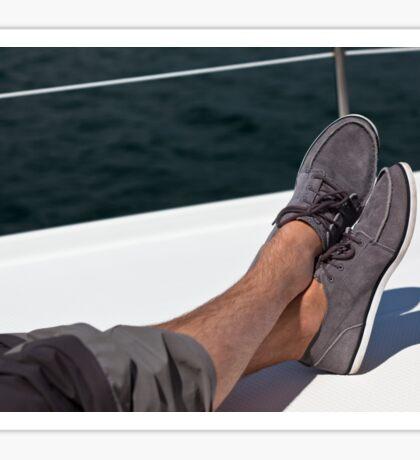 Yacht holiday Sticker