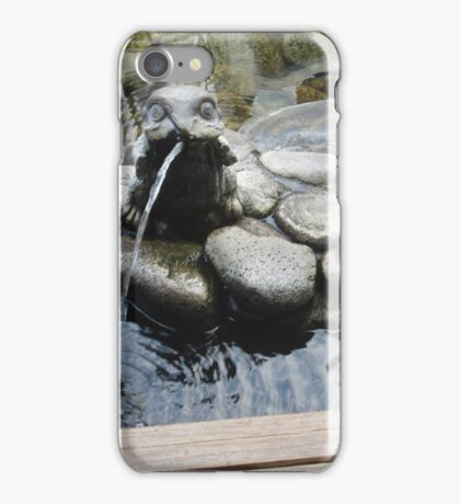Frog Hotspring iPhone Case/Skin