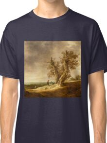Landscape with Two Oaks - Jan van Goyen 1641 Classic T-Shirt