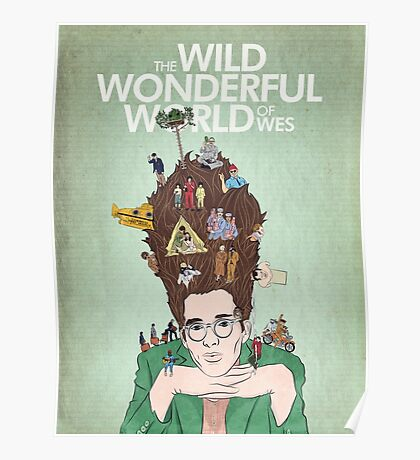 Wild Wonderful World of Wes Anderson Poster