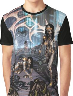 Cyberpunk Landscape 01 Graphic T-Shirt