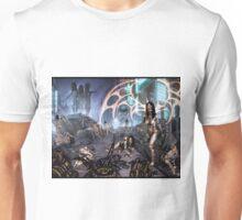 Cyberpunk Landscape 01 Unisex T-Shirt