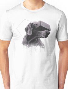 Virtual Reality Dog Unisex T-Shirt