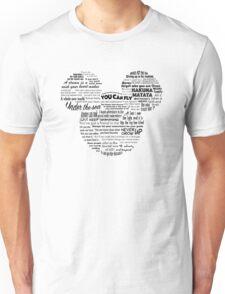 Mouse quotes Unisex T-Shirt