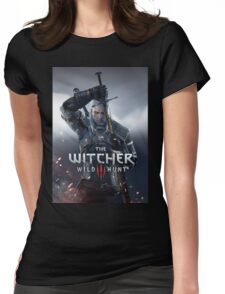 THE WITCHER WILD HUNT 3 JOWO Womens Fitted T-Shirt
