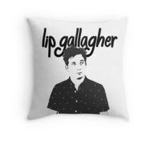 Lip Gallagher Throw Pillow