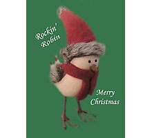 Rockin' Robin Photographic Print