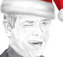 Seasonal Martin Freeman Sticker