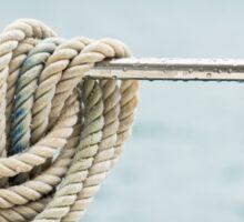 Nautical mooring rope Sticker