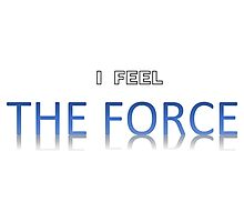 Star Wars - I Feel The Force Photographic Print