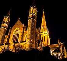 Bendigo Cathedral  by Chris Kean