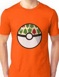 Christmas Pokeball Unisex T-Shirt