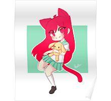 Chibi Neko Poster